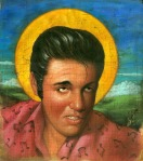 Elvis Presley icon illustration by John Walker.