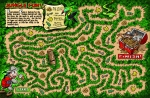 Jungle Fun Maze illustration by Larry Jones.