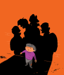 Digital theater program illustration by Bob Scott.
