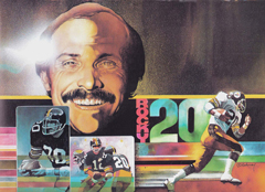 Rocky Blier illustration by Ron Mahoney.
