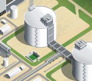 Digital tanks illustration by Ron Magnes.