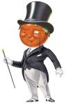 Heinz Tomato Man illustration by John Walker.