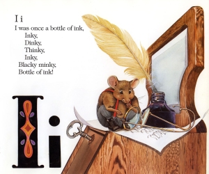 Children's book illustration by Carol Newsom.