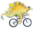 Steggy Illustration by Carol Newsom.