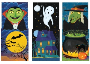 Halloween Time illustration by George Schill.