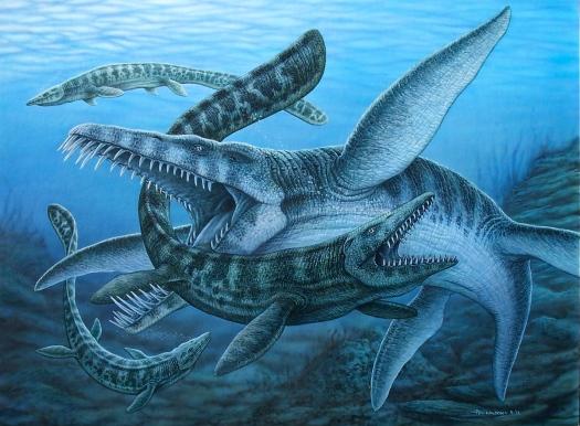 Liopleurodon painting