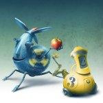 Robots illustration by Eugene Vinitski