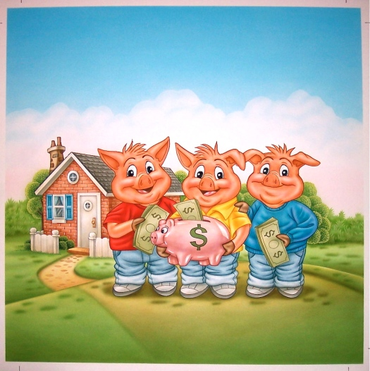 3 Pigs cover art
