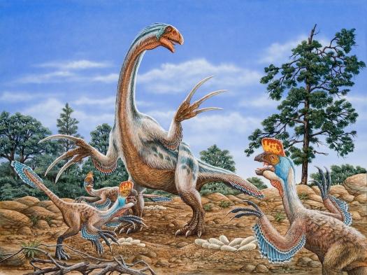 Therizinosaurus & Oviraptors (s)jpg